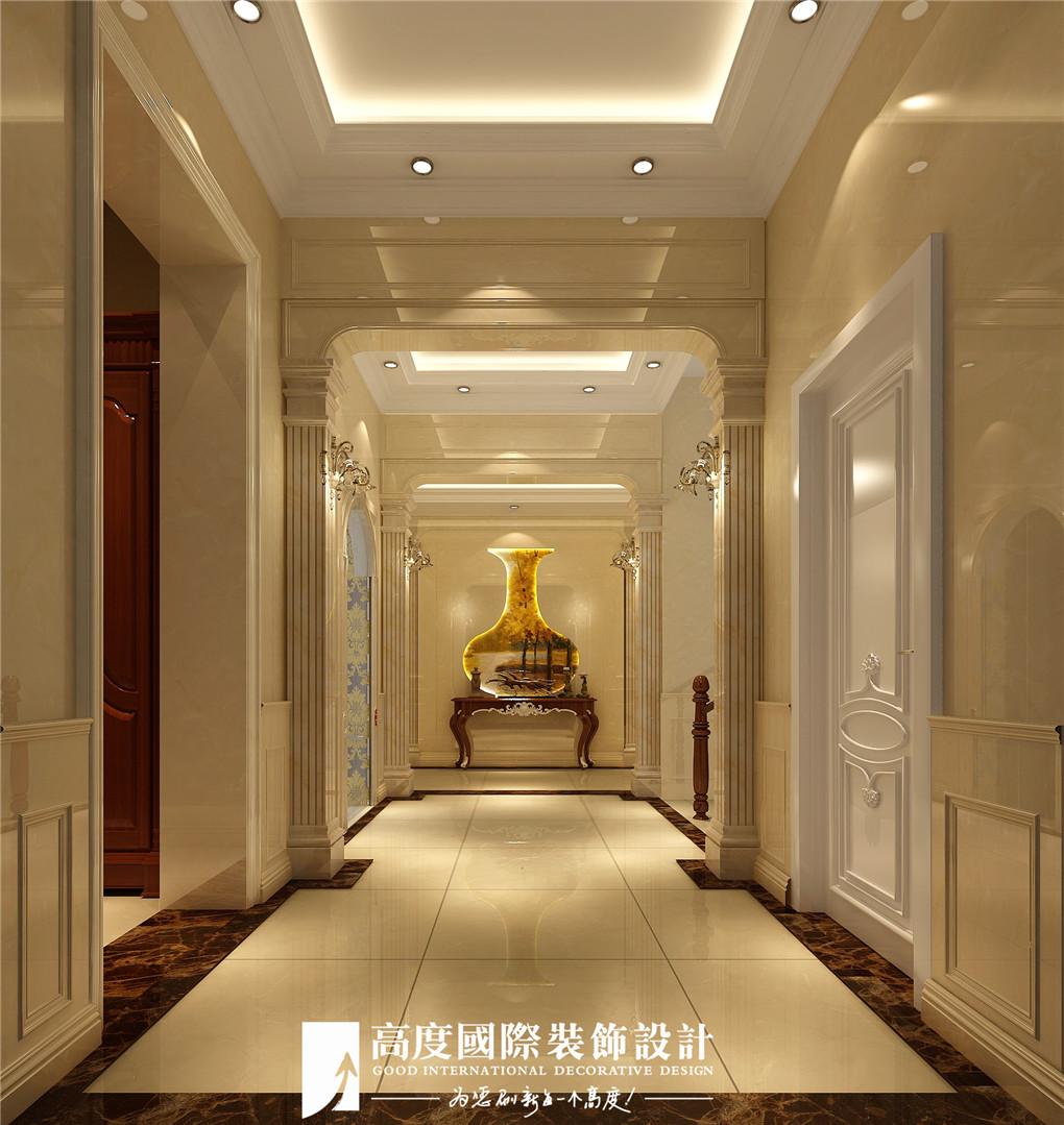 玄关图片来自北京高度国际在格拉斯小镇奢华欧式风格美美的的分享