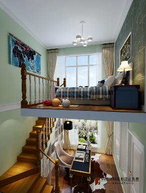 混搭 别墅 跃层 复式 大户型 80后 小资 儿童房图片来自高度国际姚吉智在永定河孔雀城230平米混搭美家的分享