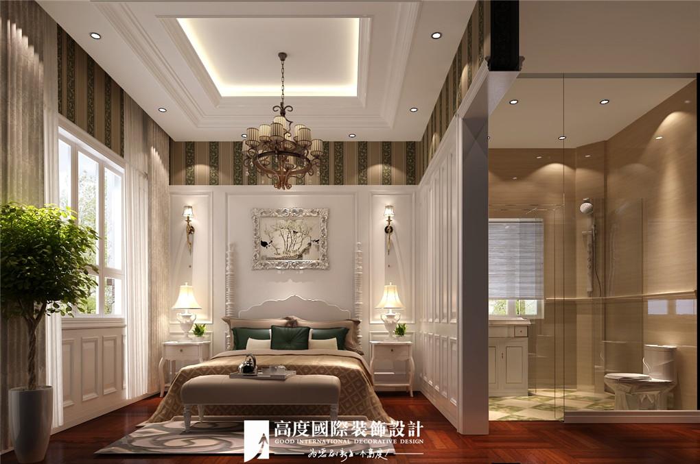 卧室图片来自北京高度国际在格拉斯小镇奢华欧式风格美美的的分享