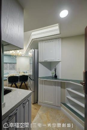 小资 80后 旧房改造 收纳 白领 新古典 玄关图片来自幸福空间在40平,打造高CP值新婚古典宅的分享