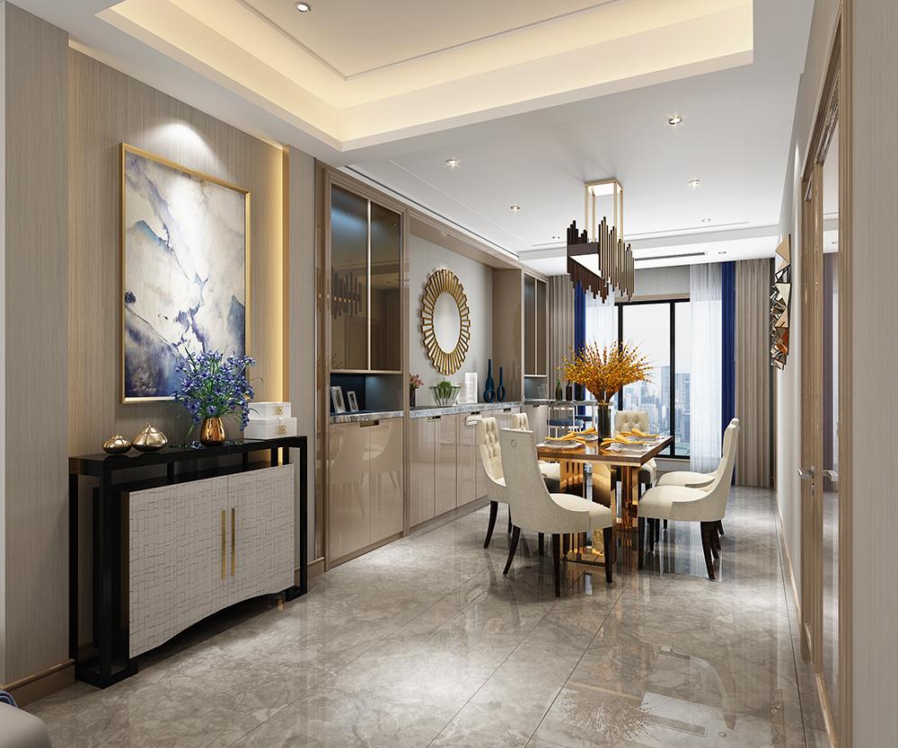 简约 三居 收纳 旧房改造 80后 小资 餐厅图片来自装家美在中正锦城160平米港式风格的分享