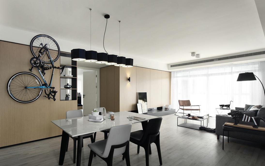三居 餐厅图片来自言白设计在穆如清风的分享