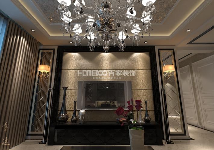 三居 保利康桥 客厅图片来自百家装饰LL在保利康桥150的分享