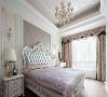 卧室的精致搭配,衬托了空间的气质。