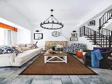 250平别墅项目装修地中海风格