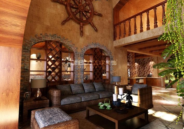 碧桂园 泰式风格 客厅图片来自百家装饰LL在碧桂园208的分享