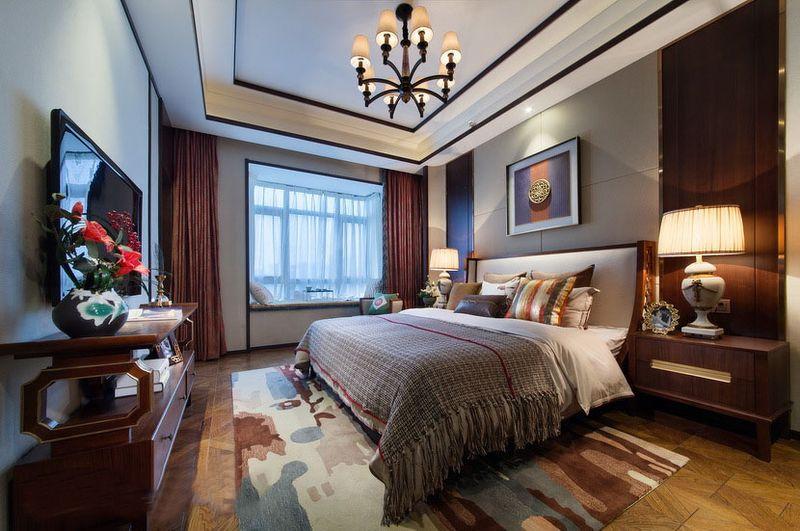 大豪山林 别墅装修 东南亚风格 腾龙设计 卧室图片来自孔继民在大豪山林别墅装修东南亚风格的分享