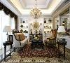 温馨舒适的欧美风情洋溢在这个客厅之内,质感自然流淌在其中。浅色的墙面搭配一列列小摆件,产生出一种和谐的美感。这欧美系的空间,塑造一个生活随意的方式,回到家以后有一种温馨的感觉。
