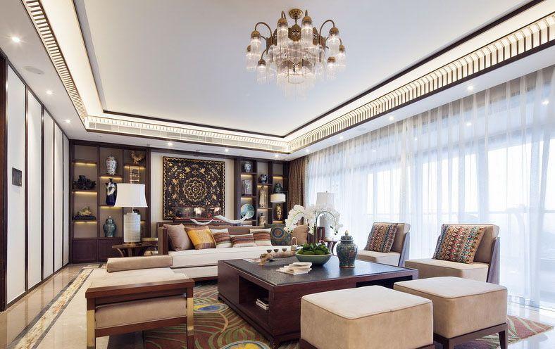 大豪山林 别墅装修 东南亚风格 腾龙设计 客厅图片来自孔继民在大豪山林别墅装修东南亚风格的分享