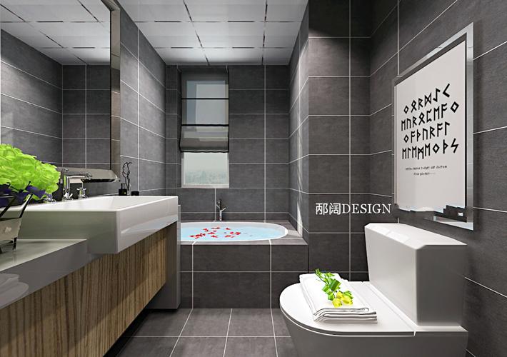 简约 三居 白领 卫生间图片来自辽宁百家装饰在浦江苑御景湾的分享