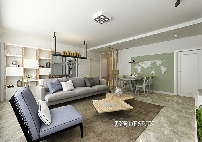 简约 三居 白领 客厅图片来自辽宁百家装饰在浦江苑御景湾的分享