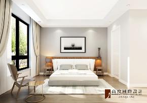 北欧 别墅 跃层 复式 大户型 80后 小资 卧室图片来自高度国际姚吉智在西山艺境230平米上叠北欧极简的分享