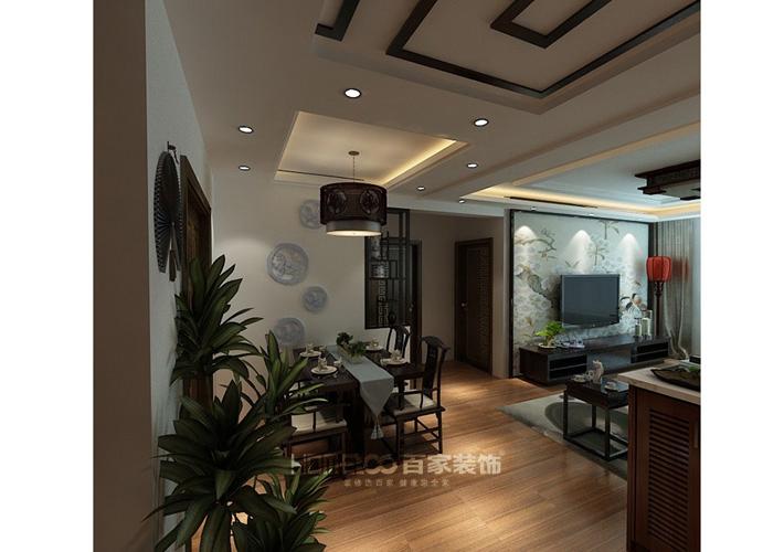 三居 其仕和裕 客厅图片来自百家装饰LL在其仕和裕的分享