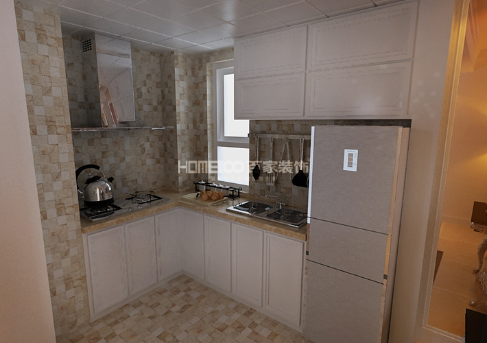 二居 中海城 96 厨房图片来自百家装饰LL在中海城 96的分享