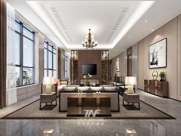 河北私人豪宅定制设计-中式雅奢