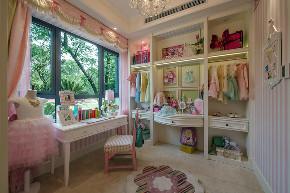 美式 现代 四居 大户型 跃层 复式 别墅 80后 小资 书房图片来自高度国际姚吉智在160平米现代美式奢雅魅力居家的分享