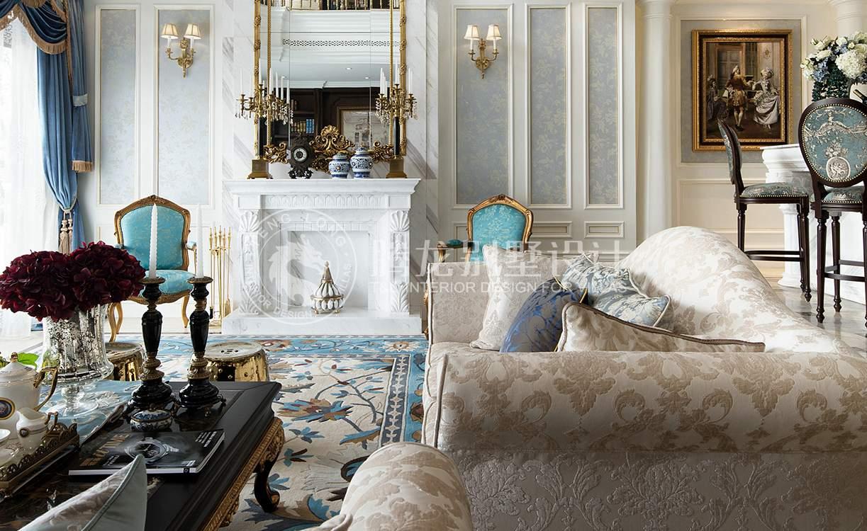 茶园别墅 装修设计 欧式风格 腾龙设计 客厅图片来自孔继民在茶园别墅383平新古典欧式风格的分享