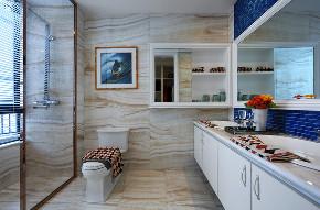 新古典 四居 大户型 跃层 复式 别墅 80后 小资 卫生间图片来自高度国际姚吉智在诗雅古典 163平米有品位的住宅的分享