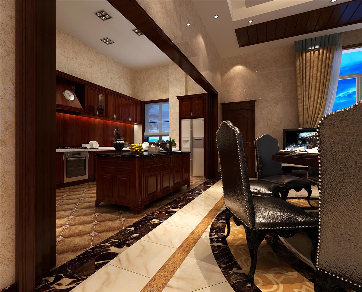 东郊壹号 别墅装修 新中式风格 别墅设计 餐厅图片来自孔继民在东郊壹号800平别墅项目装修设计的分享