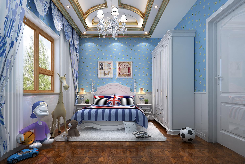山语原墅 别墅装修 地中海风格 别墅设计 儿童房图片来自孔继民在山语原墅别墅项目装修地中海的分享