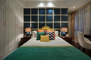 新古典 四居 大户型 跃层 复式 别墅 80后 小资 卧室图片来自高度国际姚吉智在诗雅古典 163平米有品位的住宅的分享