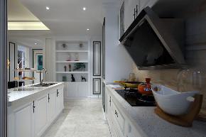 新古典 四居 大户型 跃层 复式 别墅 80后 小资 厨房图片来自高度国际姚吉智在诗雅古典 163平米有品位的住宅的分享