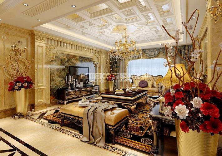 三居 深航翡翠城 140 客厅图片来自百家装饰LL在深航翡翠城 140的分享