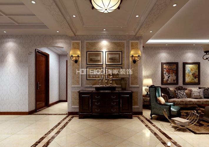 三居 保利海上五 132 客厅图片来自百家装饰LL在保利海上五月花 132的分享