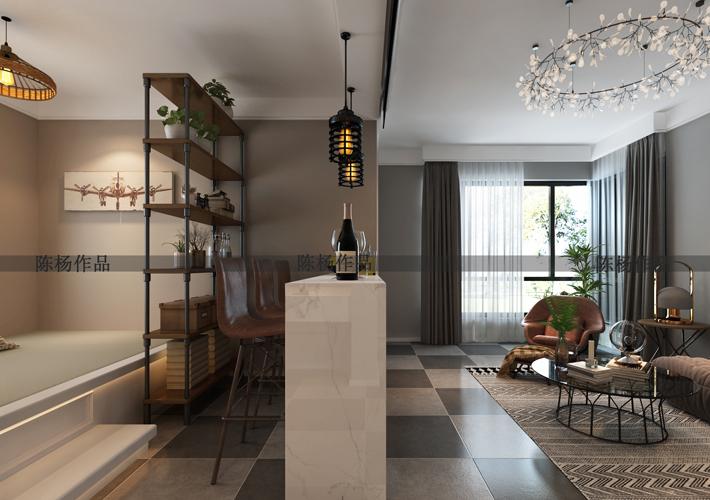 二居 翠堤湾 现代风格 客厅图片来自百家设计小刘在保利达翠堤湾79平现代风格的分享