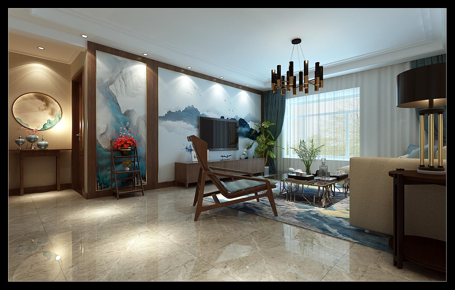 装饰装修 西安装修 中式图片来自李梦梵在华清学府城的分享