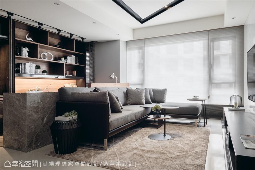 小资 现代风格 装修设计 二居 白领 其他图片来自幸福空间在79平,几何线条,建构个性化场域的分享