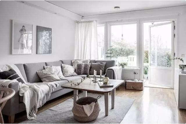 北欧 客厅图片来自大业美家 家居装饰在清新北欧装修风格设计案例的分享