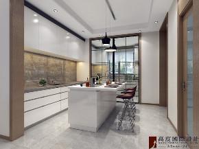 现代 简约 别墅 跃层 复式 大户型 80后 小资 厨房图片来自高度国际姚吉智在滟澜新宸长桥墅270平米现代简约的分享