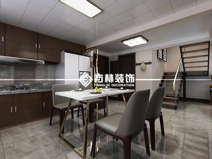 复式 餐厅图片来自方林装饰贺哥在沈阳东亚翰林世家装修案例的分享