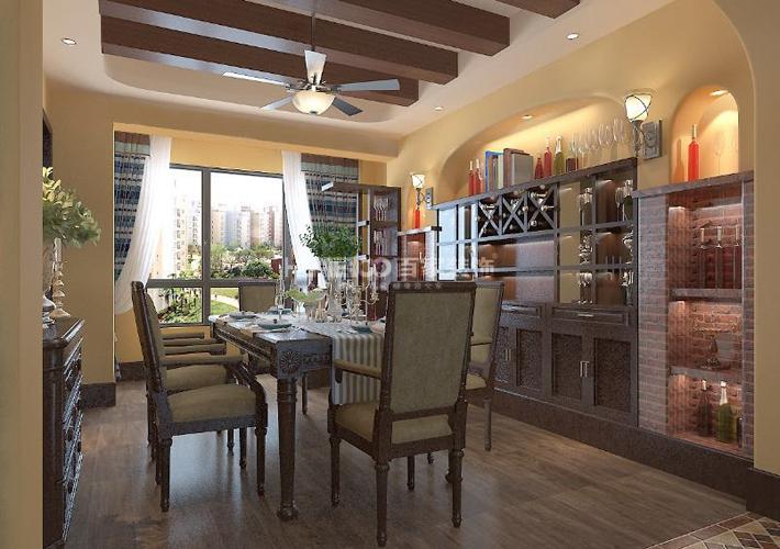 中海盛京府 150 地中海 餐厅图片来自百家装饰LL在中海盛京府 150的分享