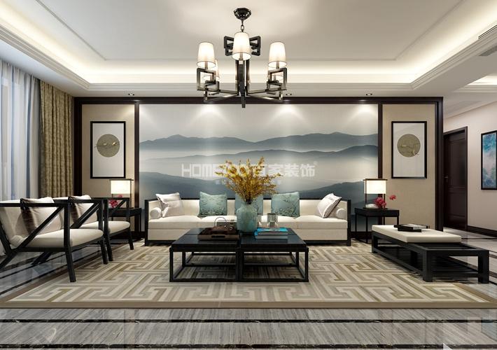 河畔名门 177 客厅图片来自百家装饰LL在河畔名门 177的分享