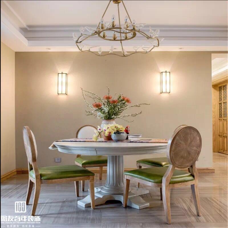 混搭 二居 三居 客厅 卧室 厨房 餐厅 收纳图片来自鹏友百年装饰在全案定制家装保利江上明珠法美风的分享