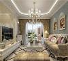 格调相同的壁纸、帘幔、地毯、家具、外罩等装饰织物;以及陈列着颇有欣赏价值的各式传统餐具、茶具的饰品柜,给古典风格的家居环境增添了端庄、典雅的贵族气氛。