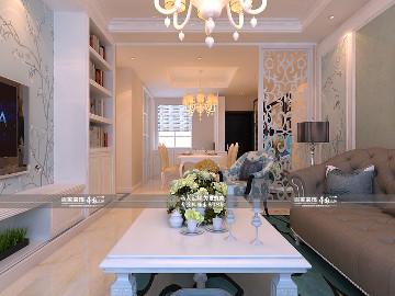 中海城130平简欧风格全包12万
