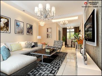 东润国际106平米现代简约风格