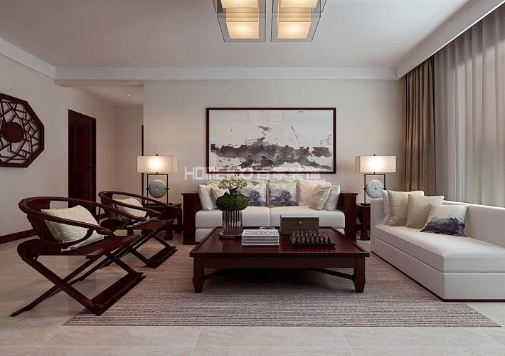 东大迎湖园 客厅图片来自百家装饰LL在东大迎湖园 157的分享