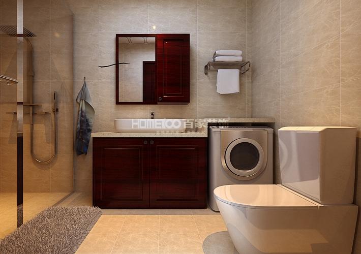 东大迎湖园 卫生间图片来自百家装饰LL在东大迎湖园 157的分享