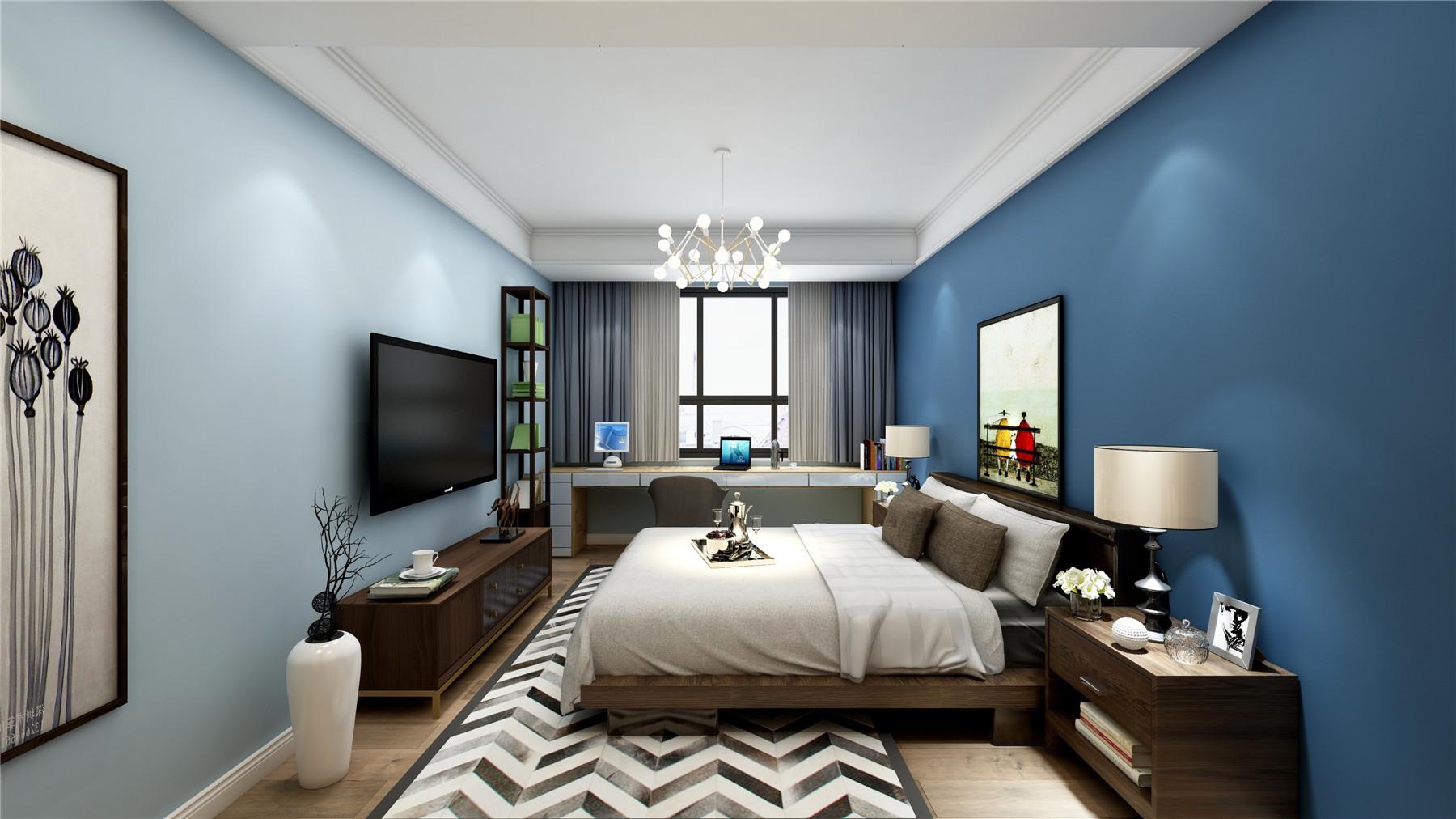 龙湖滟澜山 别墅装修 现代风格 腾龙设计 卧室图片来自孔继民在龙湖滟澜山别墅现代风格设计的分享