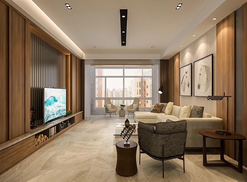 港式 装修设计 客厅图片来自大业美家 家居装饰在港式装修设计风格:安若暖城的分享