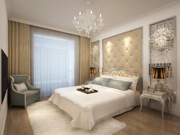 振业泊公馆 卧室图片来自我是小样在振业泊公馆三室140平现代风格的分享