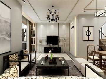 龙湖滟澜山别墅现代风格设计