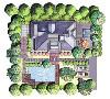 安亭高尔夫别墅项目装修现代轻奢主义风格设计案例展示,上海腾龙别墅设计师徐文作品,欢迎品鉴