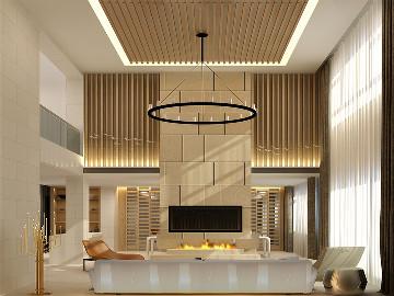 华润中央公园别墅现代风格设计
