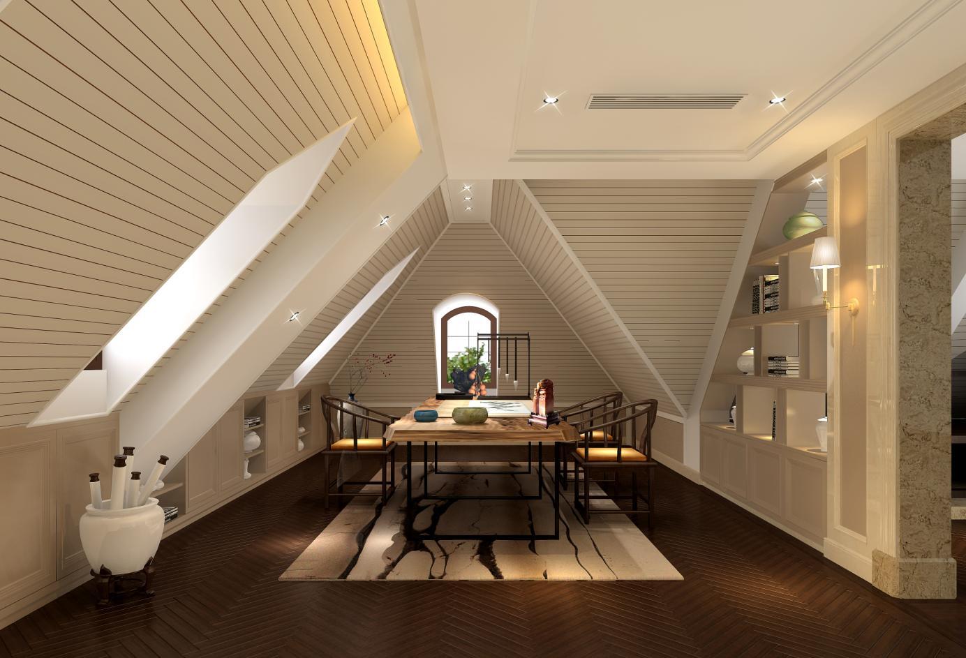 圣堡别墅 装修设计 法式风格 腾龙设计 沈韬作品 卧室图片来自孔继民在圣堡别墅项目装修法式风格设计1的分享