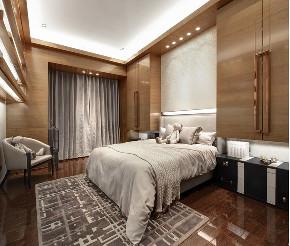 新古典 别墅 复式 跃层 大户型 80后 小资 卧室图片来自高度国际姚吉智在235平米古典时间积淀的怀旧韵味的分享